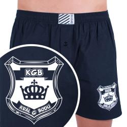 Pánské trenky Infantia černé s vtipem PTKG30