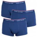3PACK pánské boxerky Tommy Hilfiger tmavě modré (1U87903841 409)