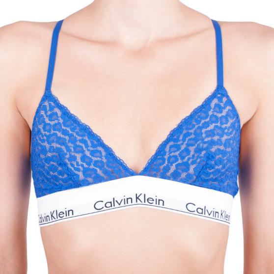 Dámská podprsenka Calvin Klein modrá (QF4582E-PZ6)