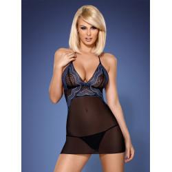 Dámská košilka Obsessive 844-CHE-1 chemise