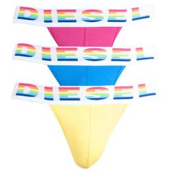 3PACK pánské jocksy Diesel vícebarevné (00SH9I-0BATC-E3956)
