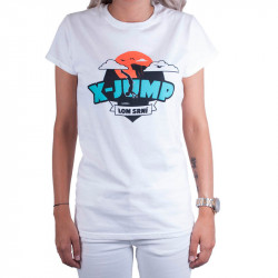 Dámské tričko X-jump bílé