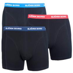 3PACK pánské boxerky Bjorn Borg černé (9999-1028-90012)