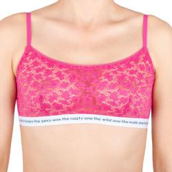Dámská podprsenka Calvin Klein růžová (QF5197E-TZX)