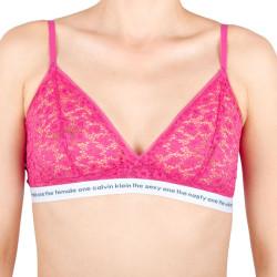 Dámská podprsenka Calvin Klein růžová (QF5196E-TZX)