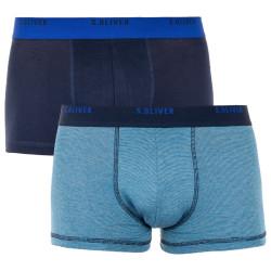 2PACK pánské boxerky S.Oliver vícebarevné (26.899.97.4298.17F2)