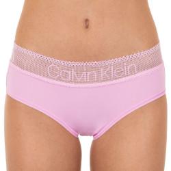 Dámské kalhotky Calvin Klein růžové (QD3700E-6DQ)