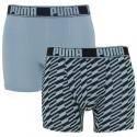 2PACK pánské boxerky Puma sportovní modré (691010001 056)