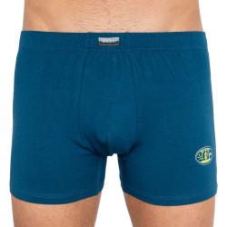 Pánské boxerky Andrie tyrkysovo modré (PS 5182c)
