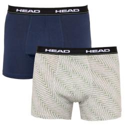 2PACK pánské boxerky HEAD vícebarevné (891005001 686)
