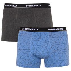2PACK pánské boxerky HEAD vícebarevné (891004001 277)