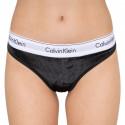 Dámská tanga Calvin Klein černá (QF5512E-001)