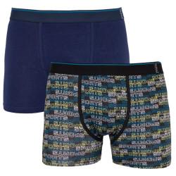 2PACK pánské boxerky Molvy vícebarevné (KP-039-BEU2)