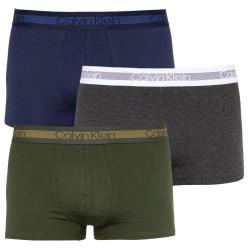 3PACK pánské boxerky Calvin Klein vícebarevné (NB1799A-NXB)