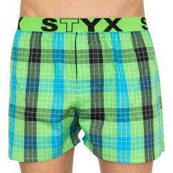 Pánské trenky Styx sportovní guma vícebarevné (B810)