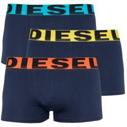 3PACK pánské boxerky Diesel černé (00SAB2-0GAPG-E4975)
